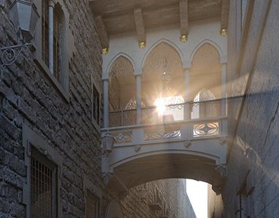 Gothic Quarter - Barcelona -