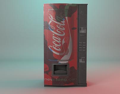 Maquina expendedora de gaseosas Coca-Cola
