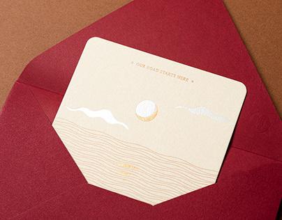 Wedding invitation|顏張喜帖 A-PO&Nancy