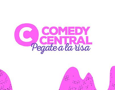 tv branding ∙ comedy central