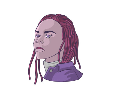 Digital Illustration Portrait