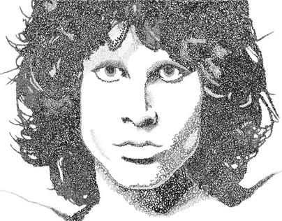 Jim Morrison, Typography