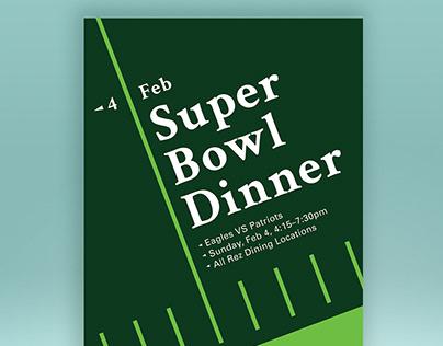 Super Bowl Dinner
