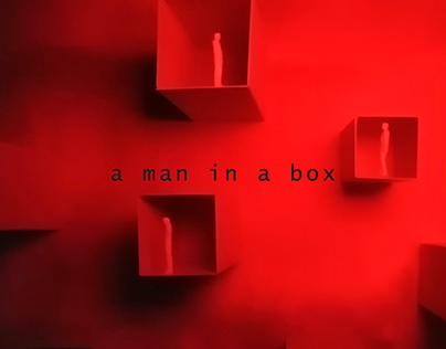 Just a man in a box VIDEO / SET DESIGN / PHOTOGRAPHY