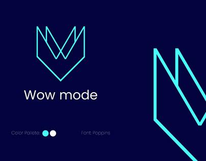 Wow mode logo
