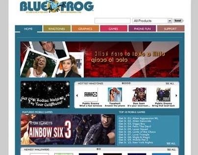 Blue Frog Mobile