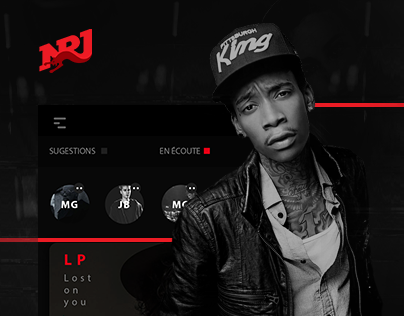 NRJ - Website & App - Concept - Platinum Muse Award