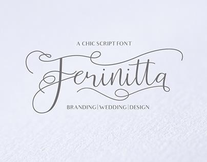 Ferinitta - Free Font