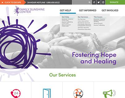 Family Sunshine Center Website Design