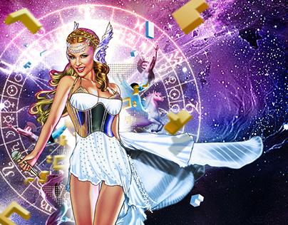 Kylie Minogue Tribute Illustrations