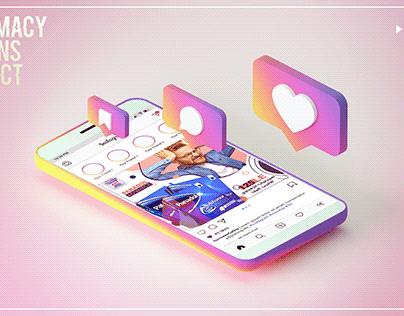 Pharmacy Social Media Designs
