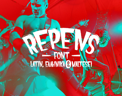 Repens // Free Typeface