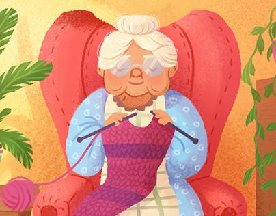 Grandma's day
