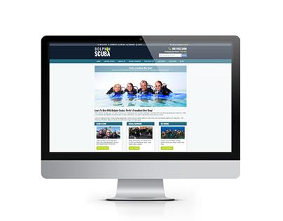Dolphin Scuba Website Redesign