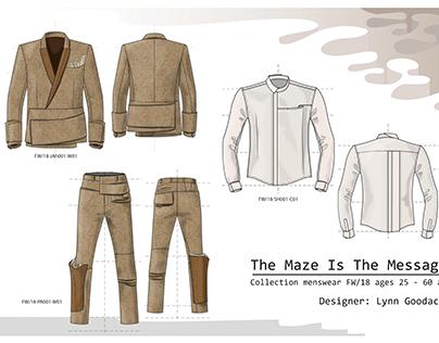 Avant Garde Fashion Concept - RTW Menswear