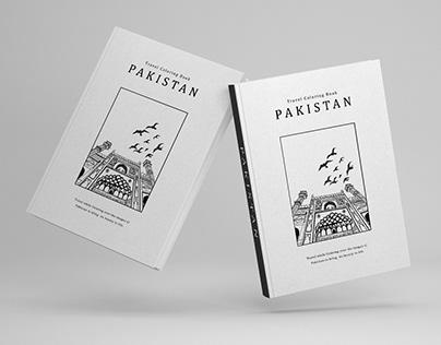 PAKISTAN - Illustrative Coloring Book