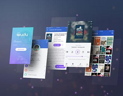 App móvil de Audiolibros