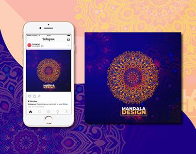 Mandala Design (Colourfull Mandala Design)