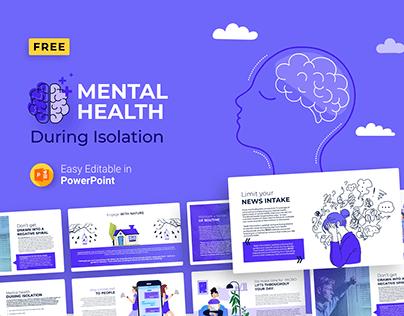 Free Mental Health During Isolation PPTX Presentation