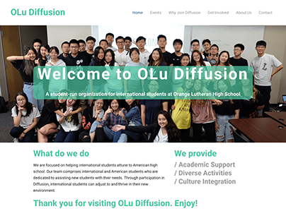 The Diffusion Club Website