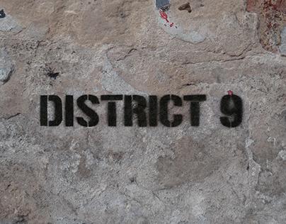Créditos de Película - Cinética - District 9