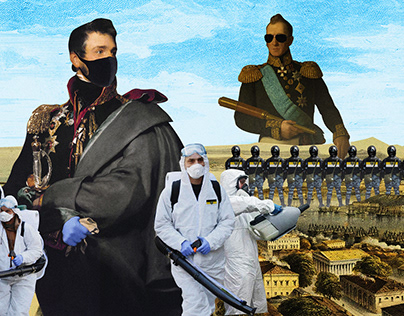 Plague riot in Sevastopol