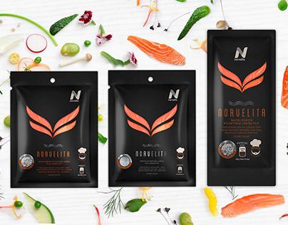 NORVELITA Premium Packaging design
