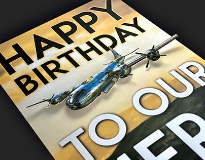 3D Printed Birthday Card