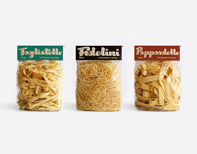 """Paradiso"" pasta PACKAGE"