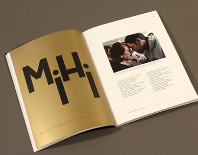 A gathering of stars —Bi-lingual publication design