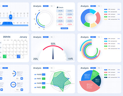 Infographic template stock diagrams and statistics bars