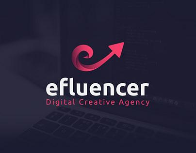 efluencer   Concept Logo Design