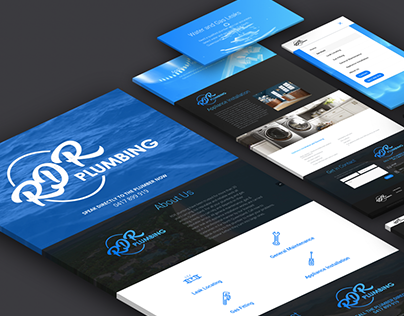 Branding and Web Development of rdrplumbing.com.au
