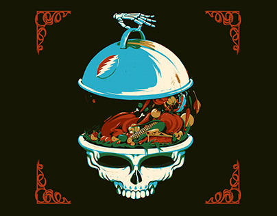 Dead & Company — Thanksgiving Illustration