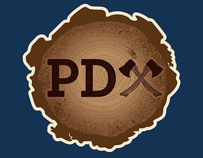 PDAxe Illustrative Logo