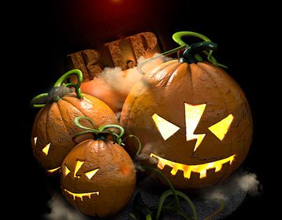 Funy pumpkin
