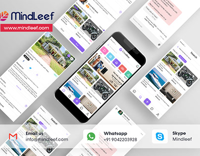 Olx UI Redesign - Mindleef Technology