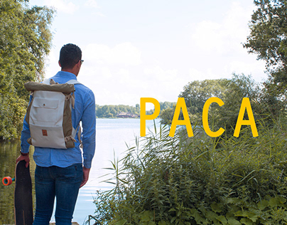 Paca — World's first backpack and hammock in one.