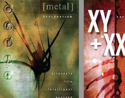 Metal Studio Posters