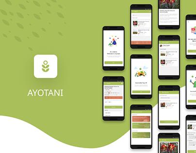 UI UX Design - Planting Tutorial andAdvice App