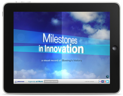 Boeing Milestones iPad App