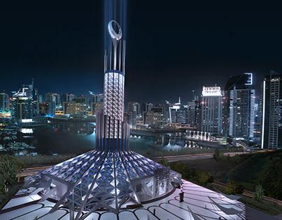 Iconic Mosque | Dubai Creek Harbour