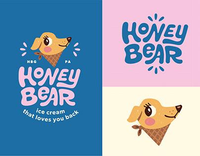 Honey Bear Ice Cream