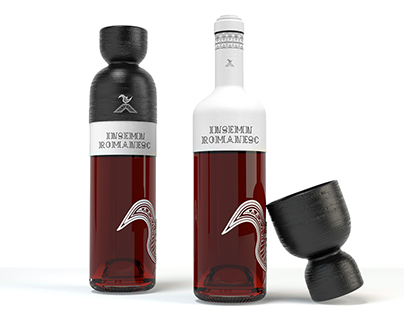 Insemn romanesc - beverage packaging design