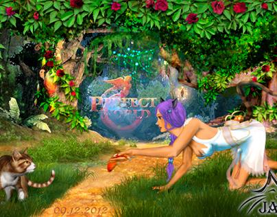 Конкурсная работа в онлайн игре Perfect World