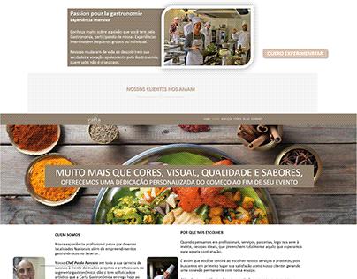 Logo, SIte, SM Carta Gastronômica