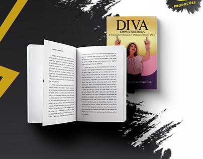 Capa e diagramação do Livro Diva
