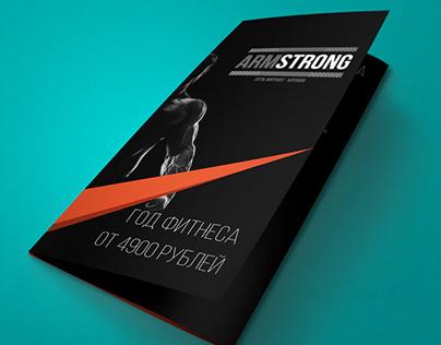 Information minimalist creative sport booklet design