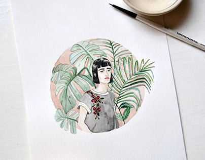 Botanical Girls - Art Prints