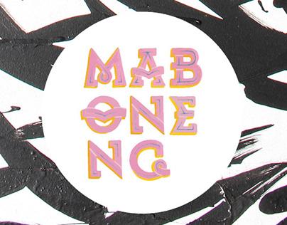 Maboneng: typographic identity